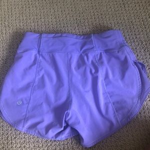 lululemon athletica Shorts - purple mesh sides lululemon athletic shorts
